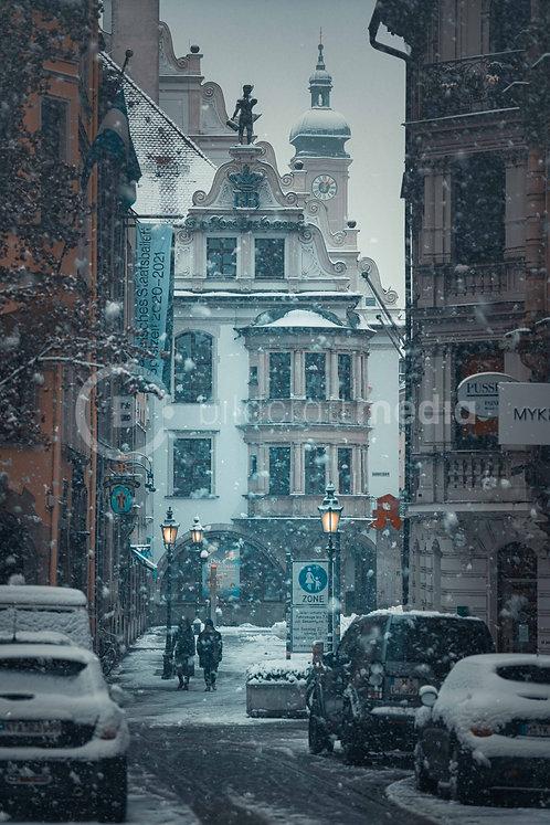 Hofbräuhaus im Winter (#7054_3)