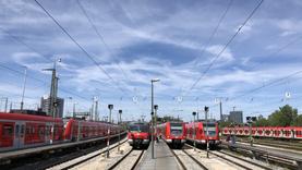 Dreharbeiten für die Bayerische Eisenbahngesellschaft (BEG)