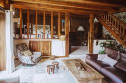 Salon de la chambre d'hôte
