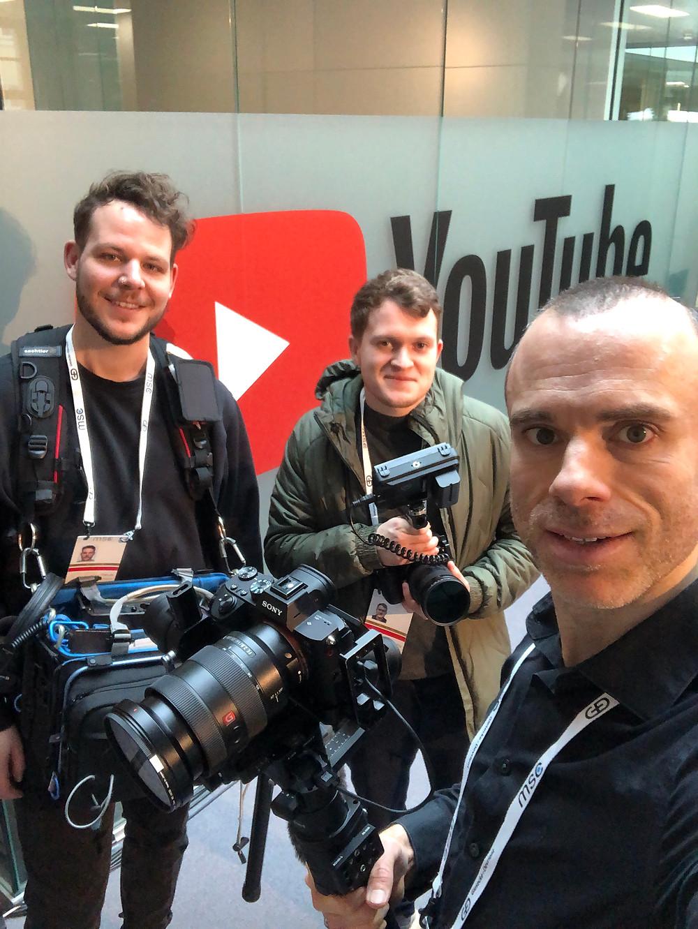 Videoproduktion_Dreharbeiten MSC 2020_02