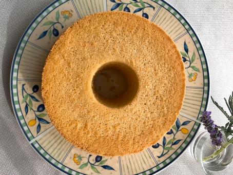 今日のひと皿②かんたんシフォン(プレーン)