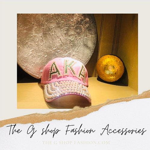 Fashion Cap: Pink Pearls