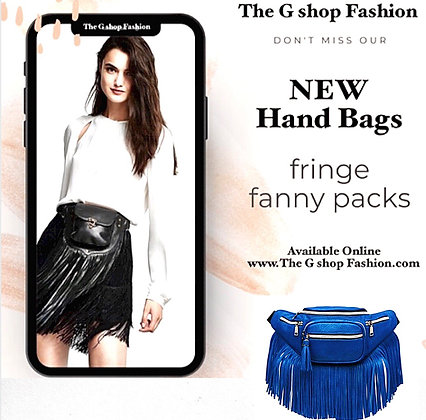 Fanny Pack Fringe: ROYAL
