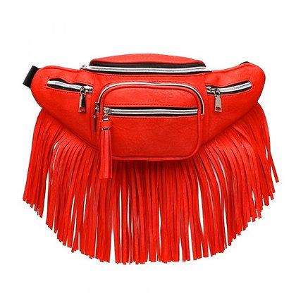 Fanny Pack Fringe: RED