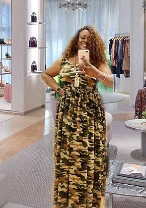 Comfy Camo Dress