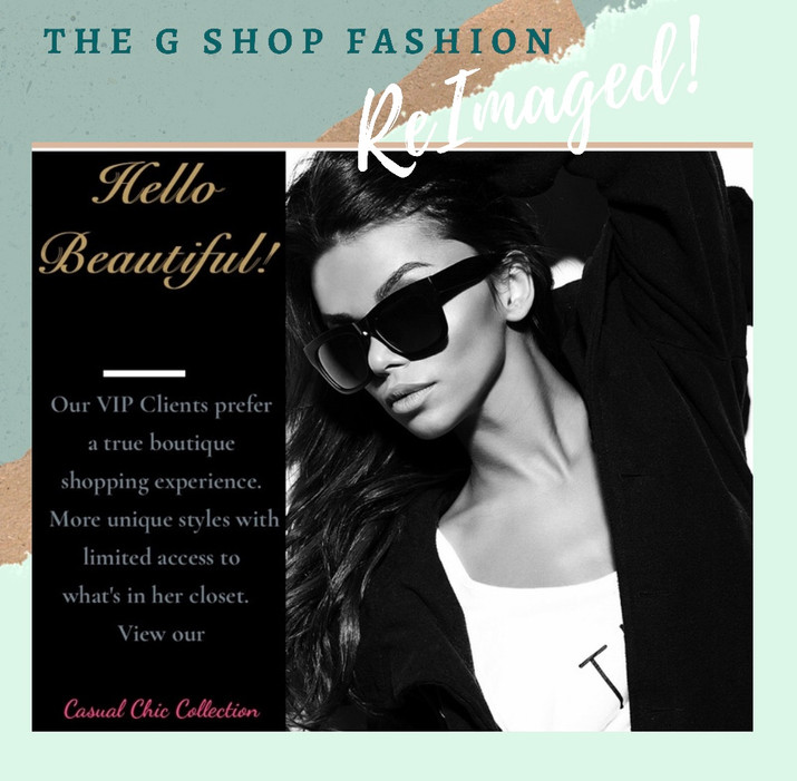Welcome to The G shop Fashion