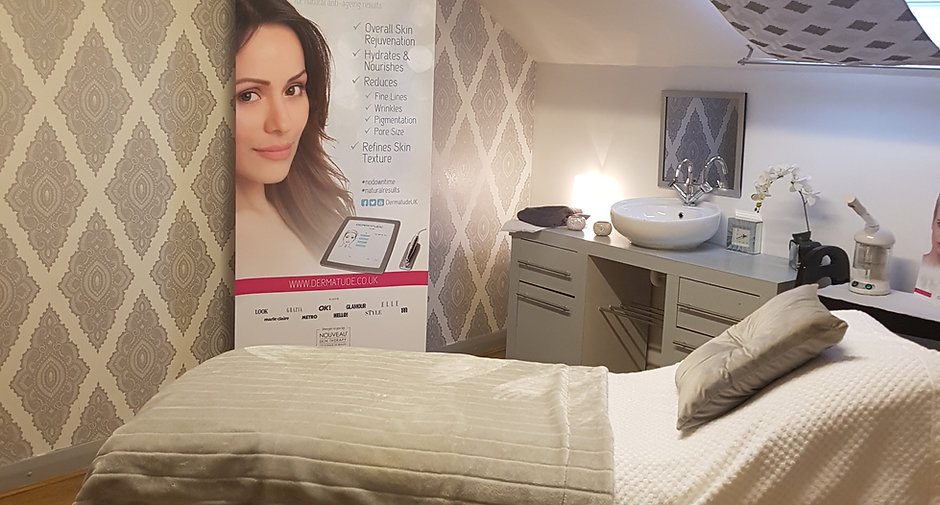 A treatment room at The Beauty Workshop