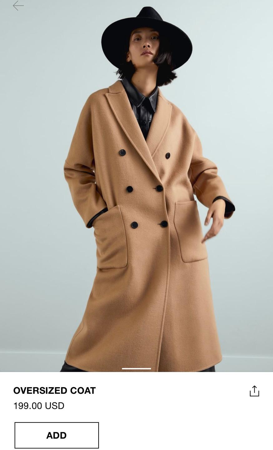 The coat for curvy women because IT WILL ACTUALLY BUTTON UP!