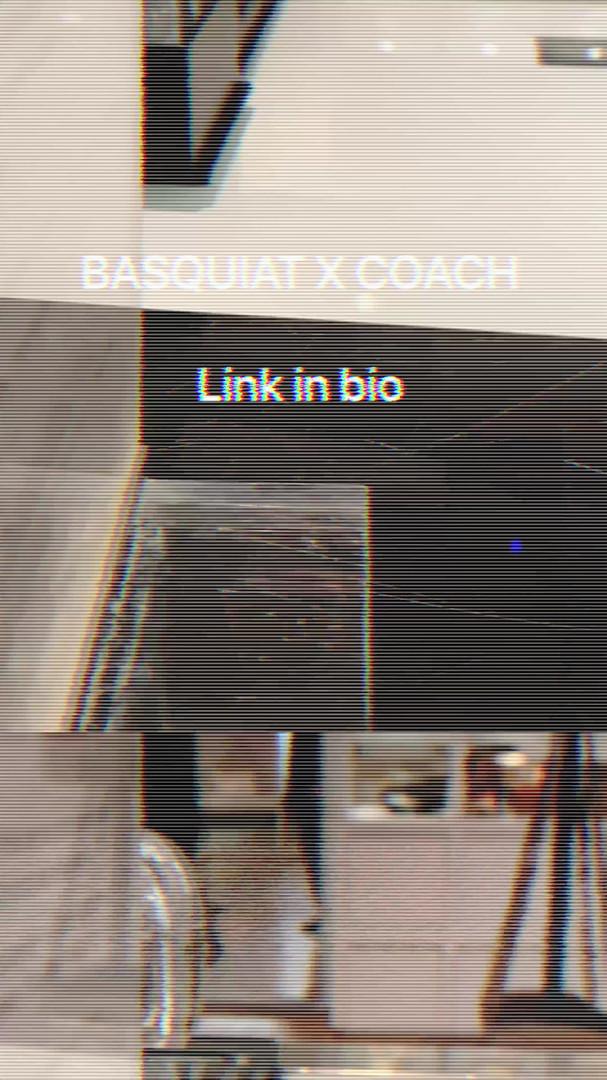 BASQUIAT X COACH CAMPAIGN