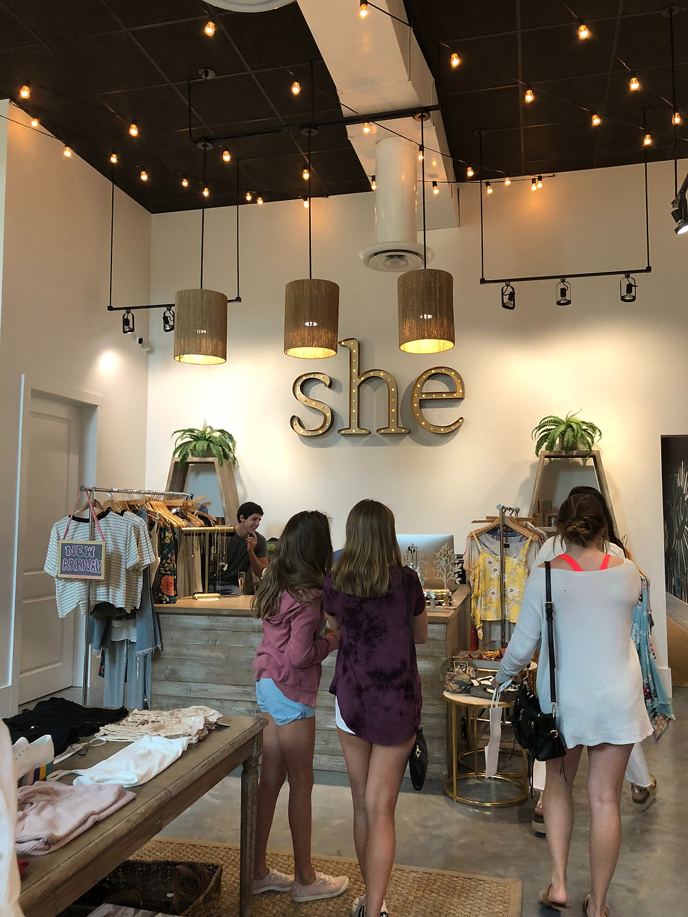 SHE in Metairie retail boutique brick and mortar store