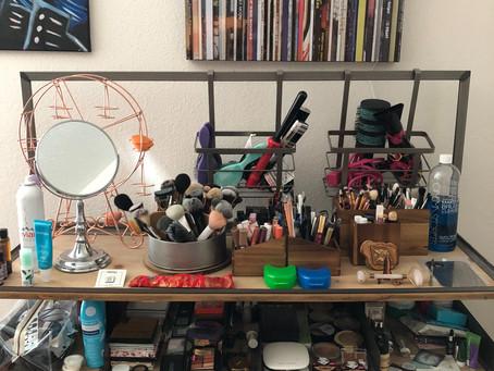 Organizing Makeup On A Budget