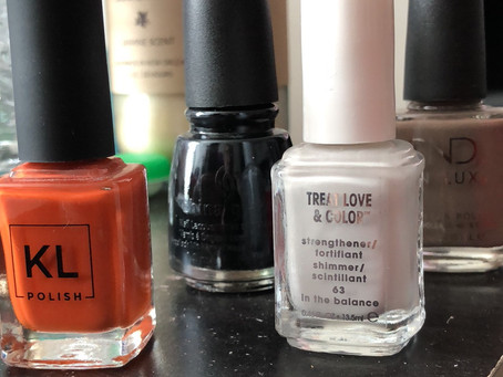 Wind Down With Nail Polish