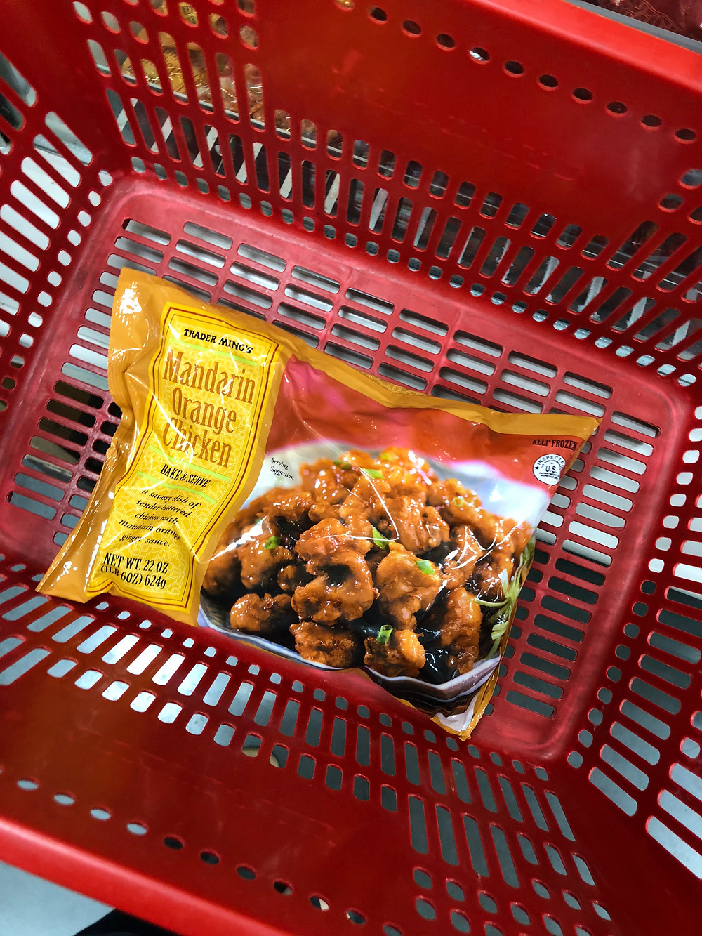 Trader Joes yummy mandarin orange chicken