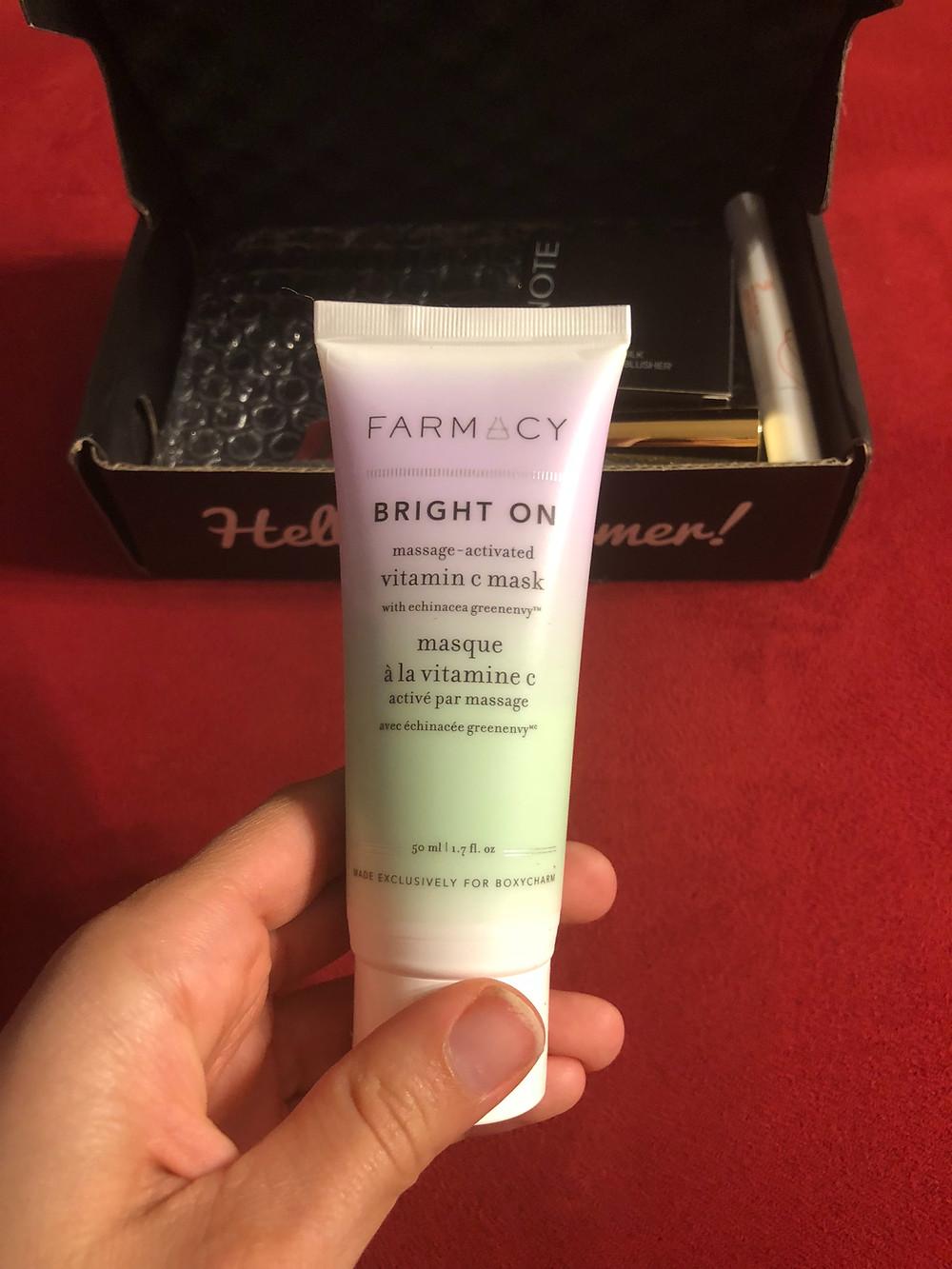 Farmacy Bright On Mask Boxycharm
