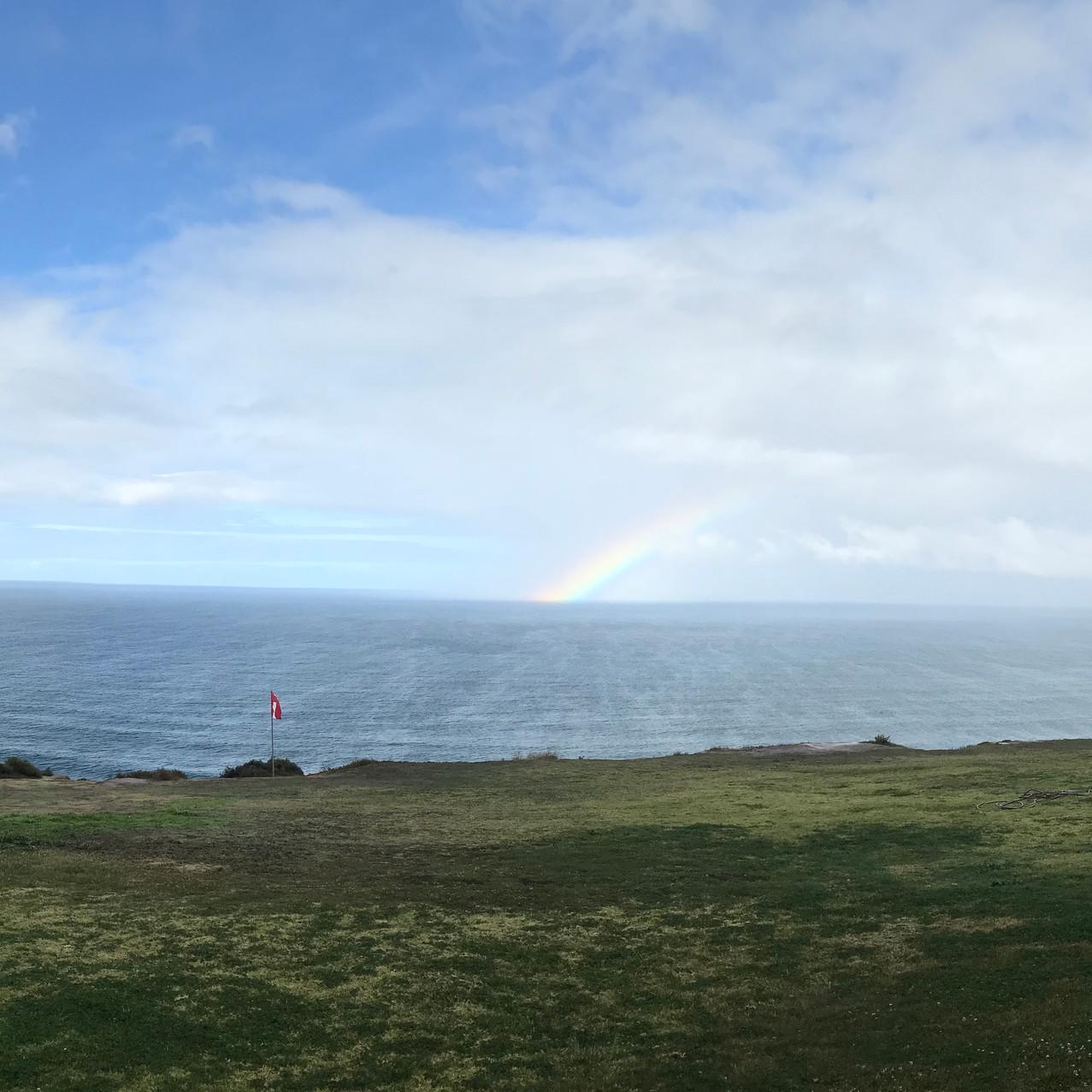 Rainbow morning at Torrey Pines Glid