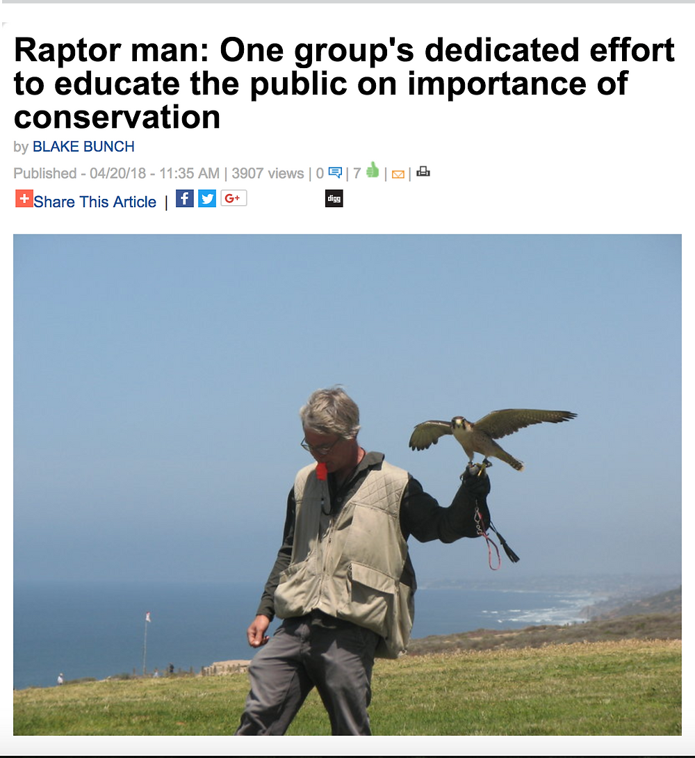 SD News on Total Raptor eXperience