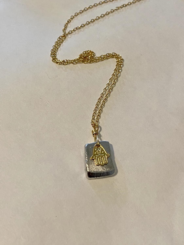 Thumbnail: Necklace with Hamsa