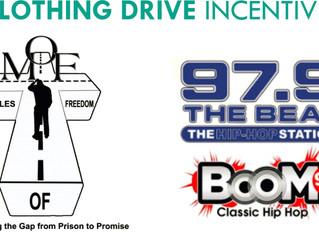 Clothing drive initiative near you!