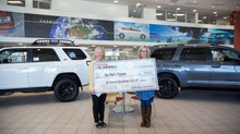 Toyota of Rockwall sponsors One Man's Treasure Annual Gala trip raffle