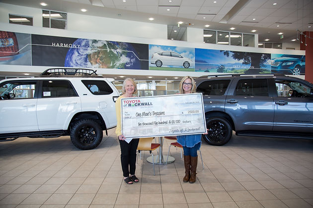Toyota Of Rockwall >> Toyota Of Rockwall Sponsors One Man S Treasure Annual Gala