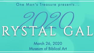 One Man's Treasure Crystal Gala 2020