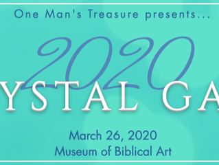 One Man's Treasure Crystal Gala 2020