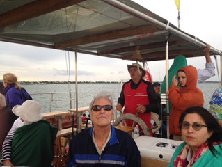 An evening out by the water with Sail With Scott's Seawolf