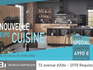 """Nouvelle expo """"Cuisine"""" !"""