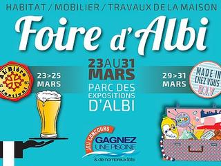 Foire d'Albi du 23 au 31 mars !