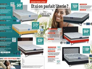 """Nouveau Catalogue """"Literie"""" !"""