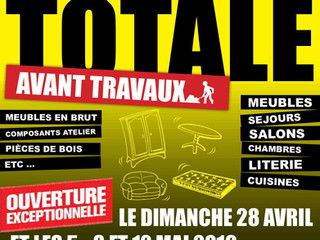 Liquidation totale avant travaux à Réquista : du 27 avril au 27 juin !