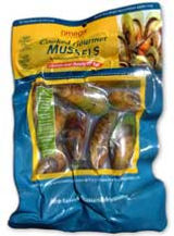 vacuum pack gourmet cooked greenshell mussels 500g