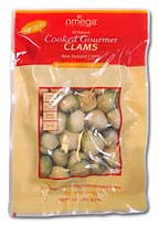 vacuum pack gourmet cooked littleneck Clams 1kg
