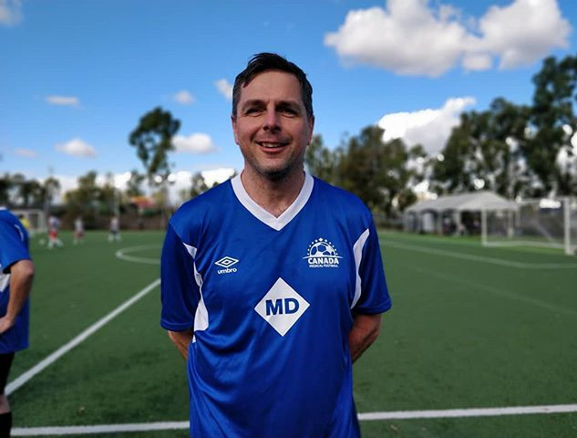 Urologist and goal scorer for Canada thi