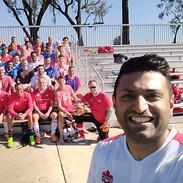 The squad. Team Canada Medical Football