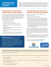 CDC Concussion Awareness