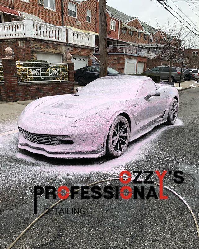 Foam bath #ozzysprodetail