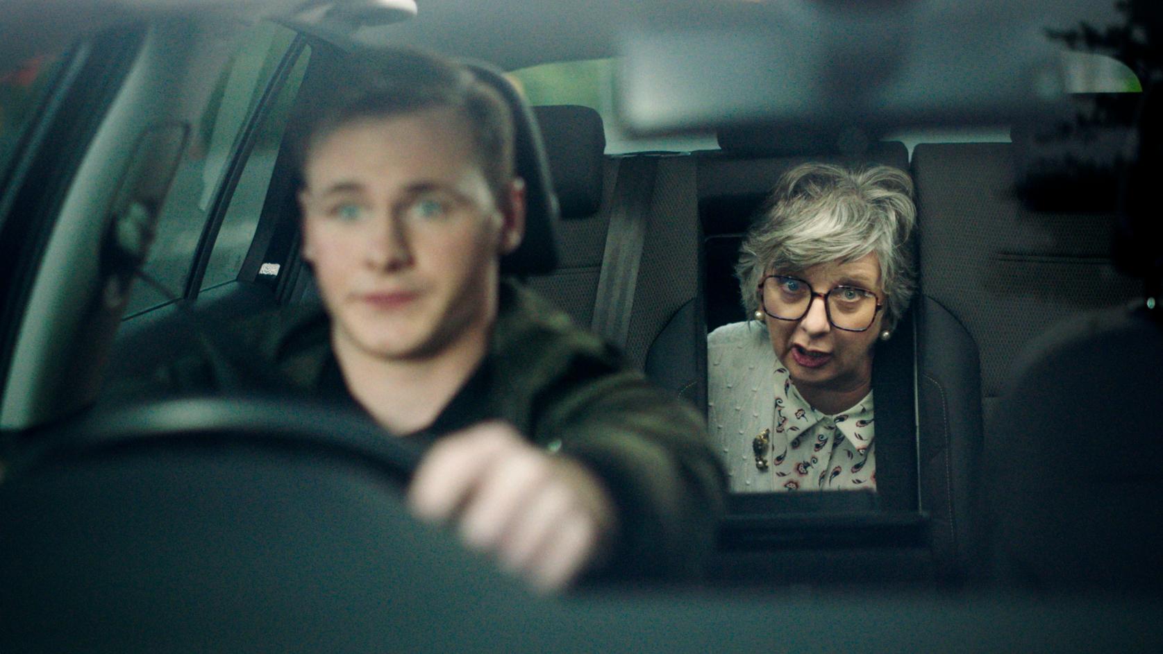 Drive like Gran's in the car