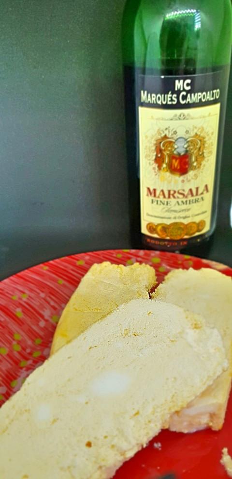 Parfait mit Marsala