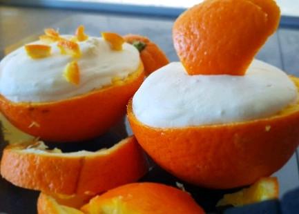 Orangen - Mousse