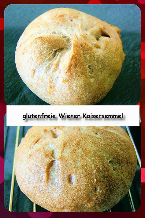 glutenfreie Wiener Kaisersemmel