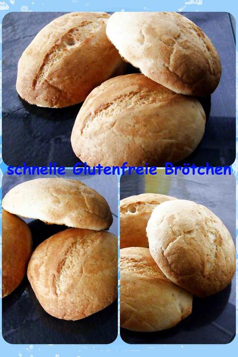 schnelle glutenfreie Brötchen