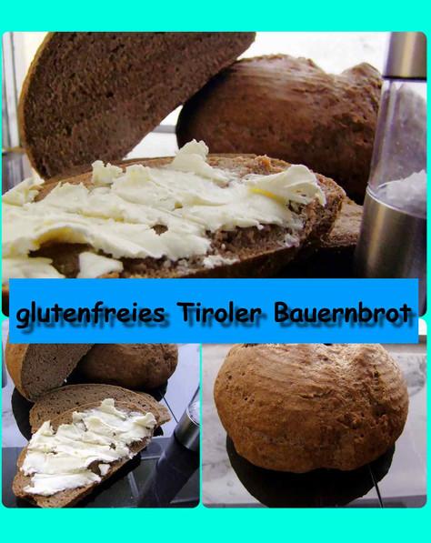 glutenfreies Südtiroler Bauernbrot