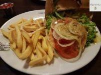 glutenfreier Lachs - Burger