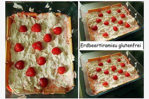 Erdbeertiramisu glutenfrei