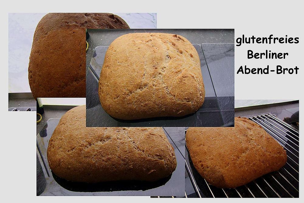 glutenfreies berliner Abend-Brot