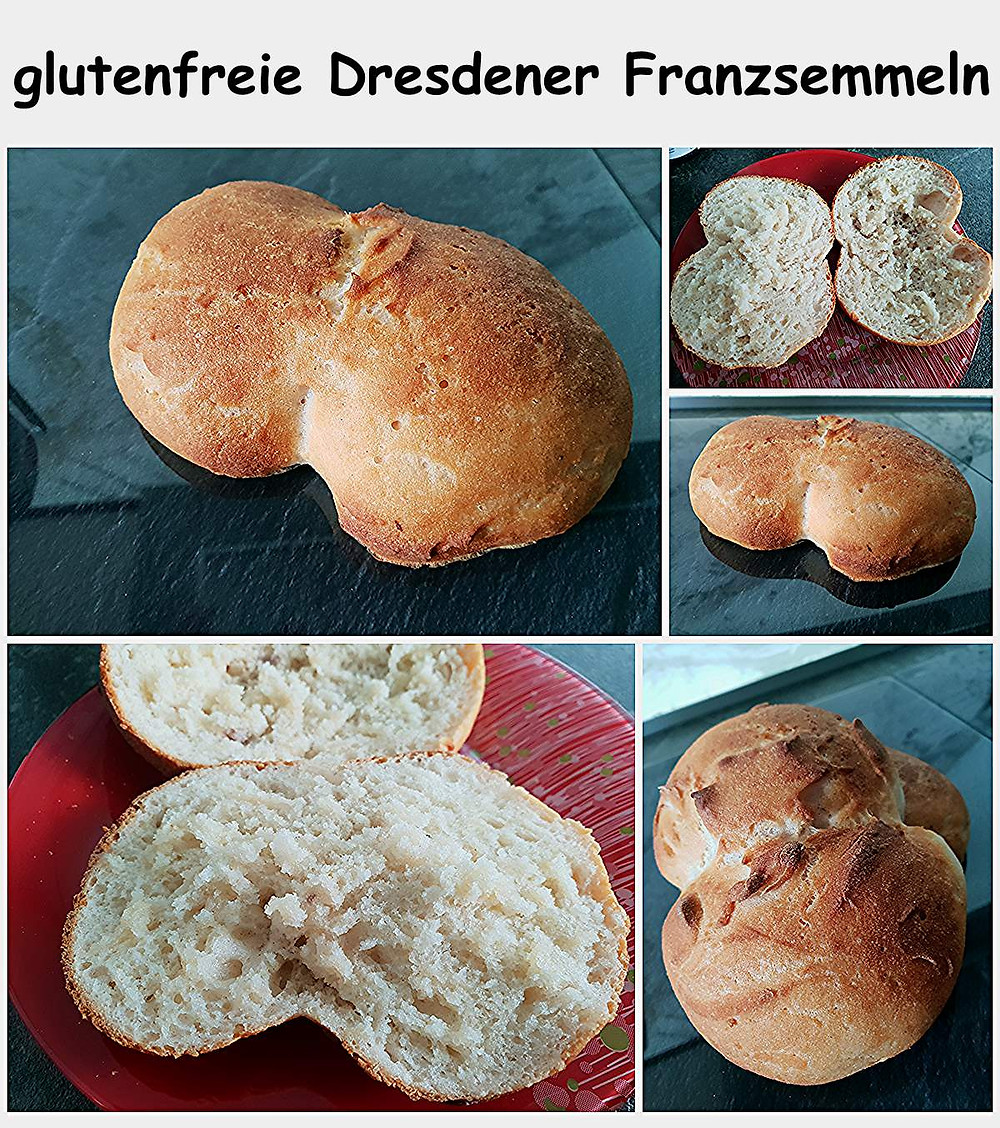 glutenfreie Dresdner Franzsemmeln