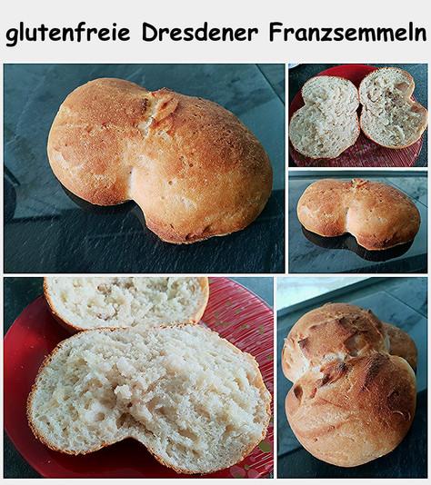 glutenfreie Dresdner Franzsemmel