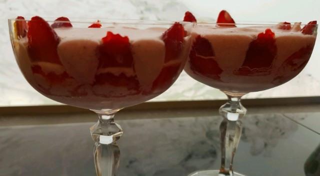 Erdbeeren, Mousse