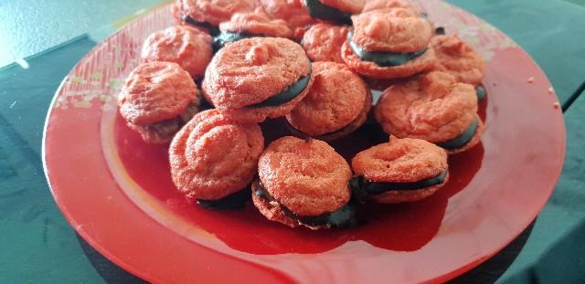 Macarons, Schokoladenfüllung